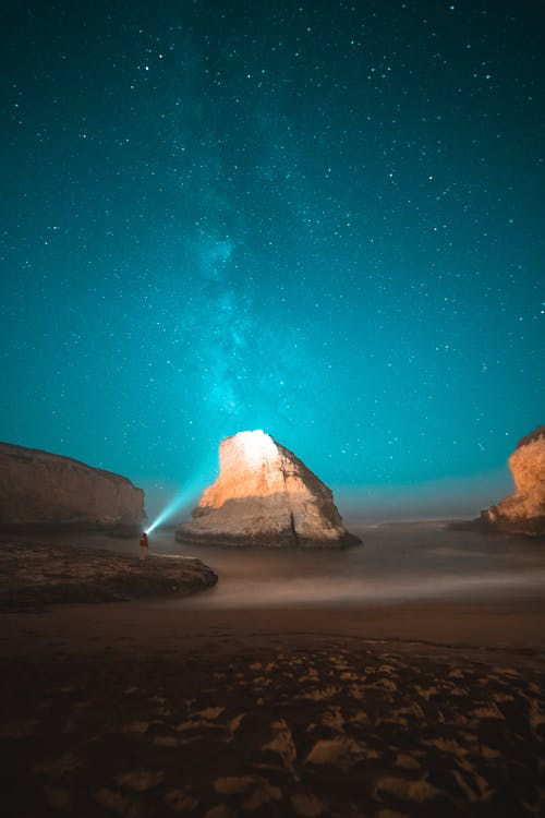 Cosmos Over The Ocean
