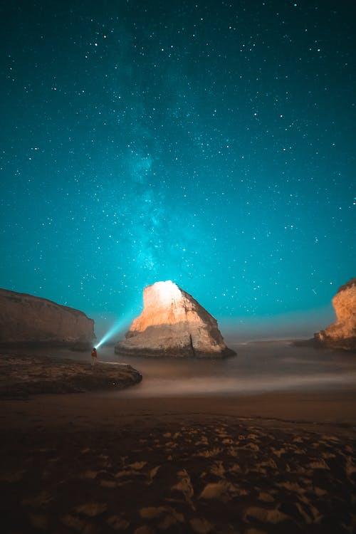 คลังภาพถ่ายฟรี ของ astrophotography, กลางคืน, การถ่ายภาพกลางคืน