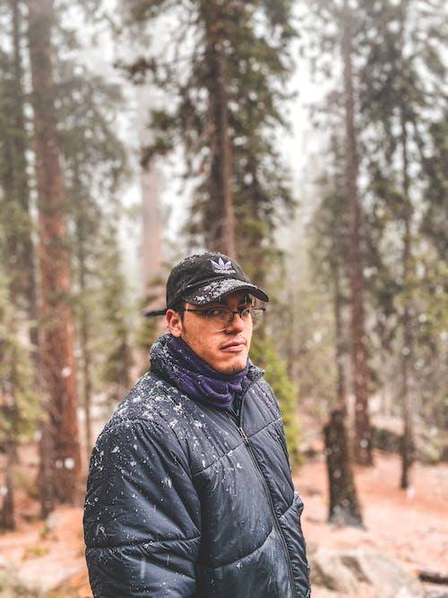Foto stok gratis dingin, hiking, laki-laki, lelaki
