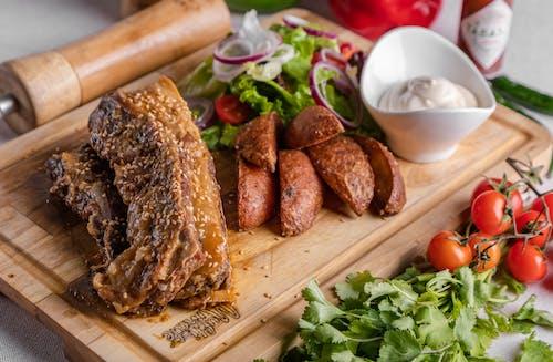Δωρεάν στοκ φωτογραφιών με αγροτικός, βοδινό κρέας, γεύμα, δείπνο