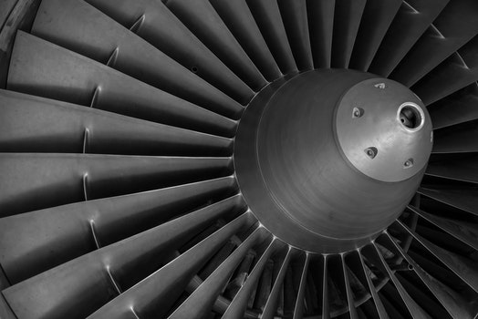 Free stock photo of pattern, aviation, aircraft, engine