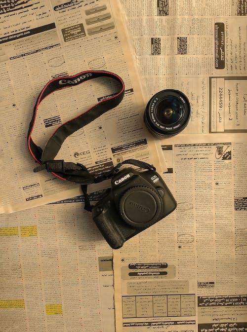 Imagine de stoc gratuită din acasă, aparat de fotografiat, camera neagra, cuvinte