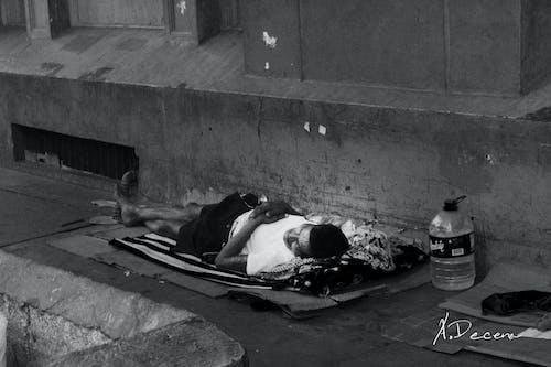 Free stock photo of homeless man in Manila