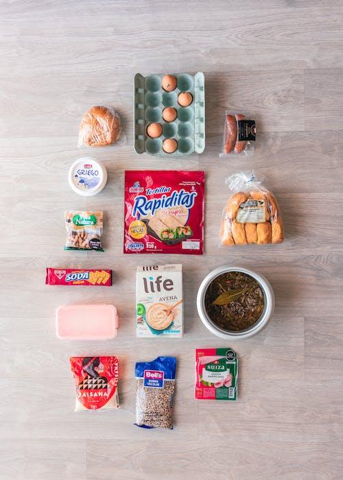 Free stock photo of flatlay, food flatlay