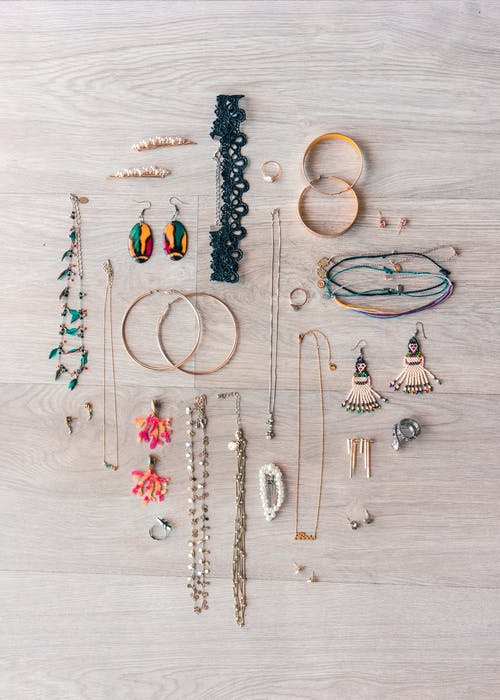 Flat Lay Of Accessories