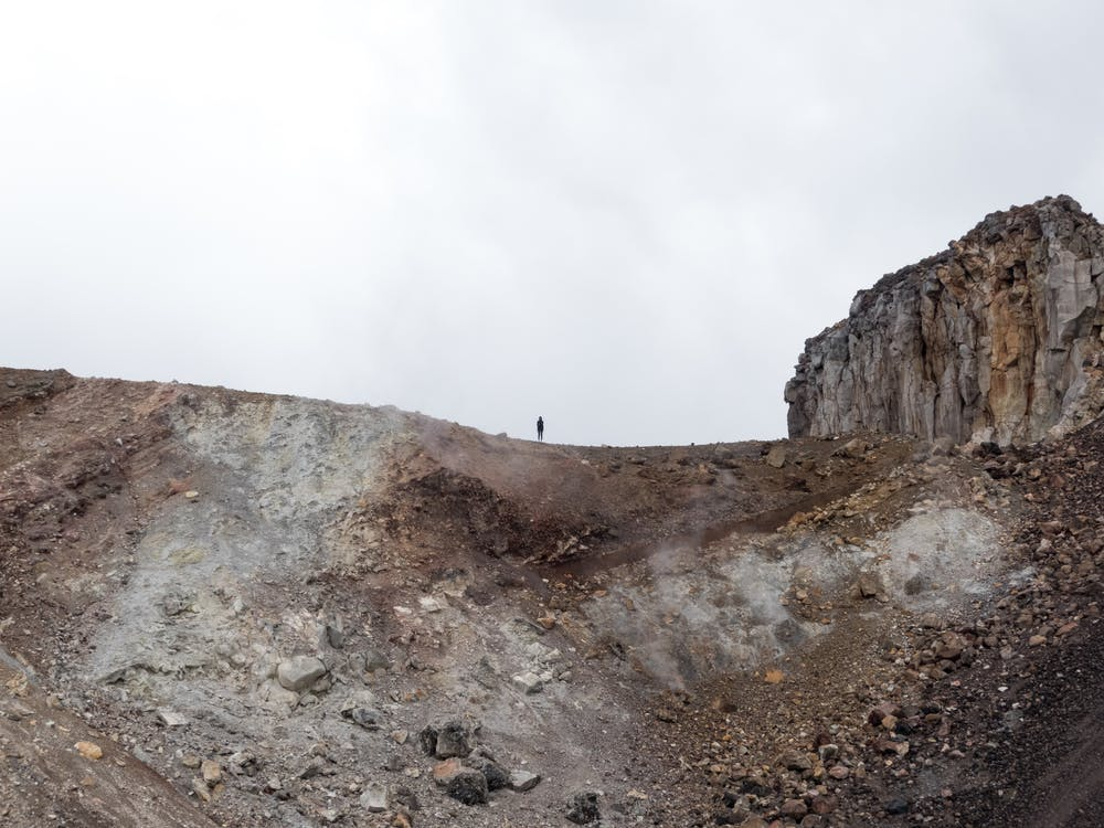 dobrodružství, erupce, geologie