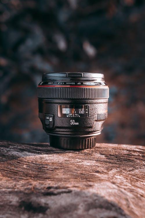 Бесплатное стоковое фото с линза, максросъемка, оборудование фотографа, объектив камеры
