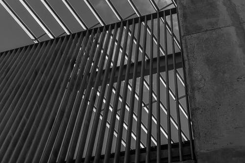 Free stock photo of architectural detail, background image, black and white, black and white background