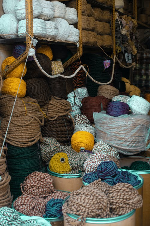 Assorted Color Yarn and Ropes