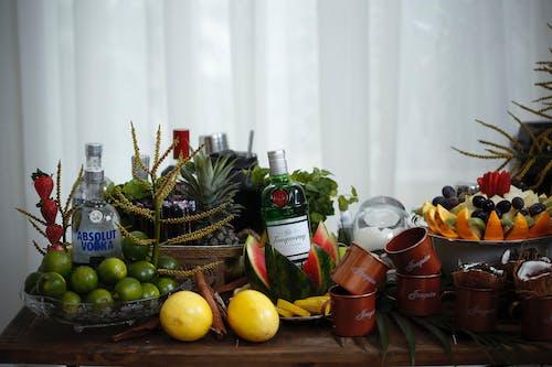 Photos gratuites de à l'intérieur, aliments, boissons alcoolisées