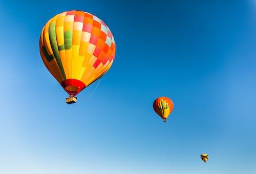 Imagine de stoc gratuită din altitudine, baloane, baloane cu aer cald