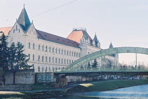 Free stock photo of analog photography, bridge, city, europe