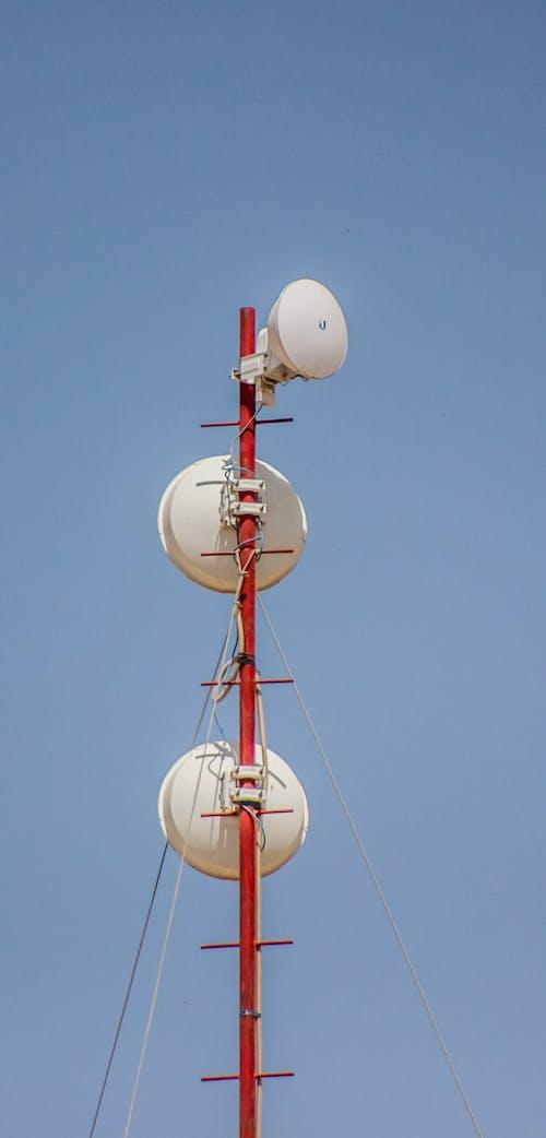 Free stock photo of antena, canon, sky