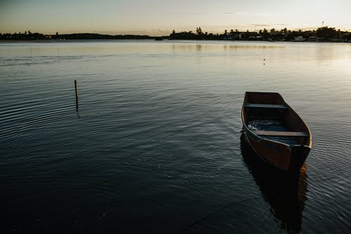 Foto d'estoc gratuïta de aigua, alba, barca, barca de rems