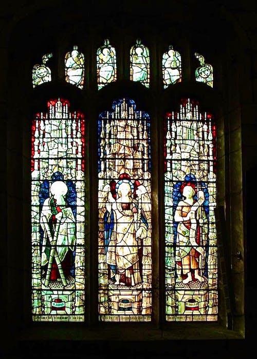 Free stock photo of art glass, church building, church glass
