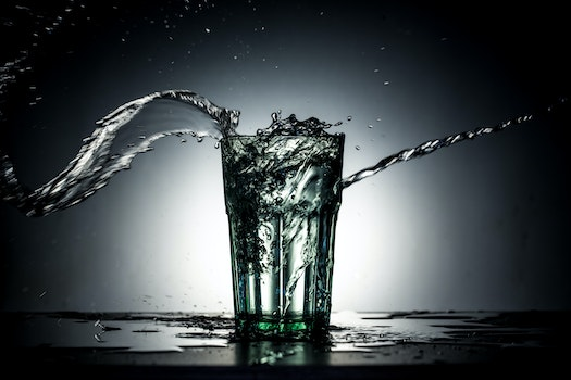 Free stock photo of water, dark, glass, blur