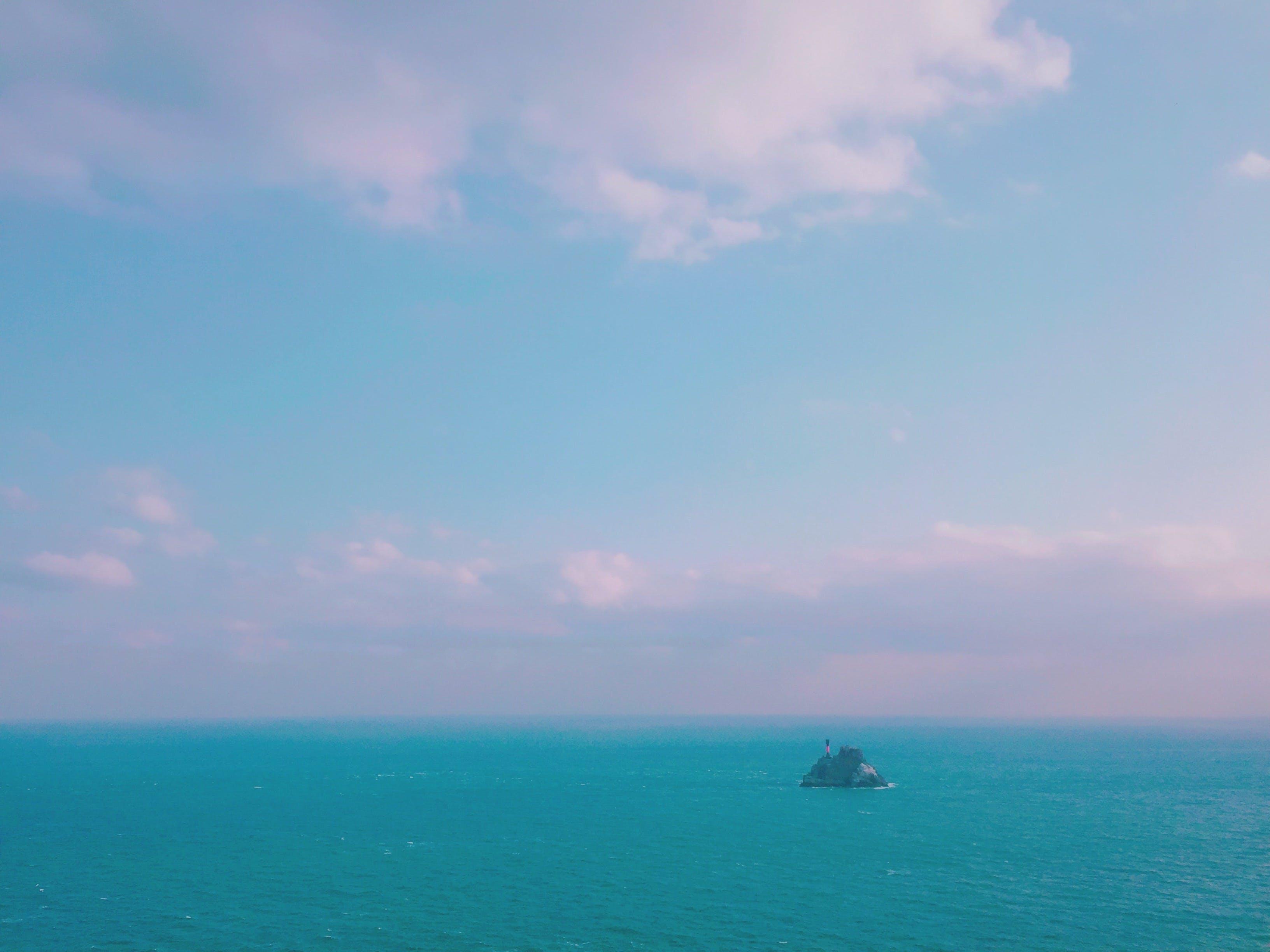 Free stock photo of blue sky, Irand, sea