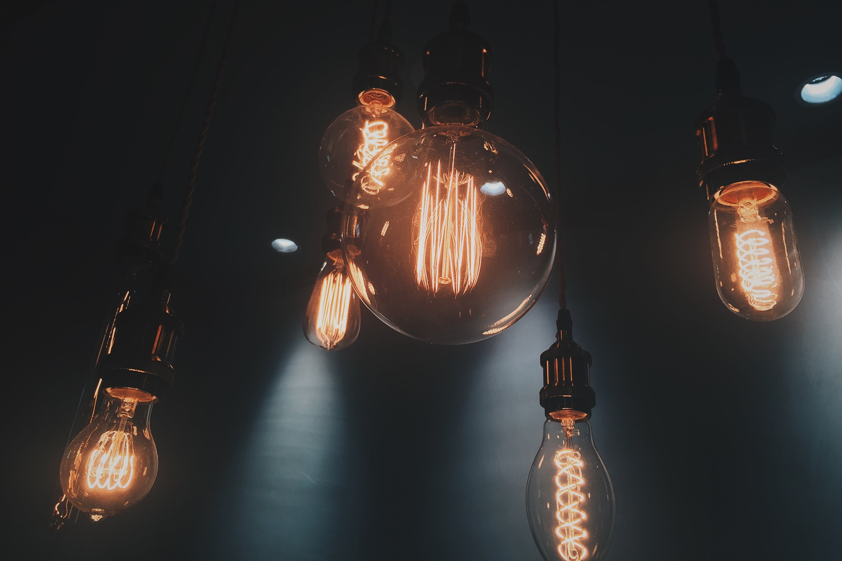 Six Halogen Bulbs