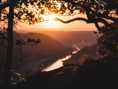 Free stock photo of atmospheric evening, canyon, evening sun, golden hour