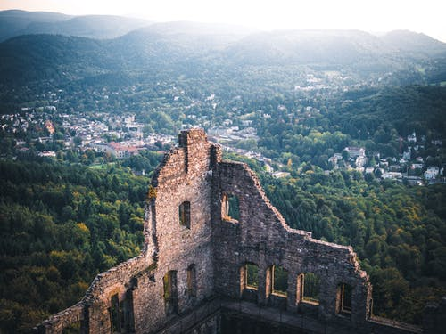 Foto d'estoc gratuïta de a l'aire lliure, arquitectura, arruïnar, castell