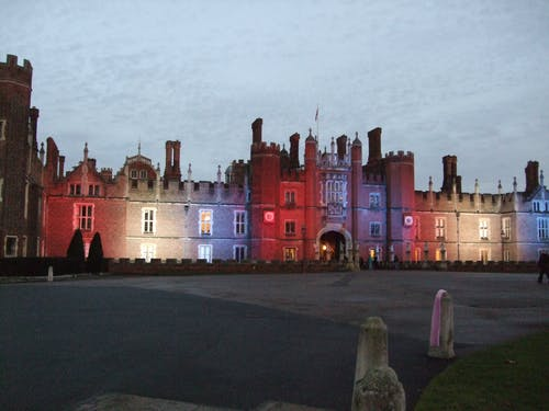 Free stock photo of light show, palace