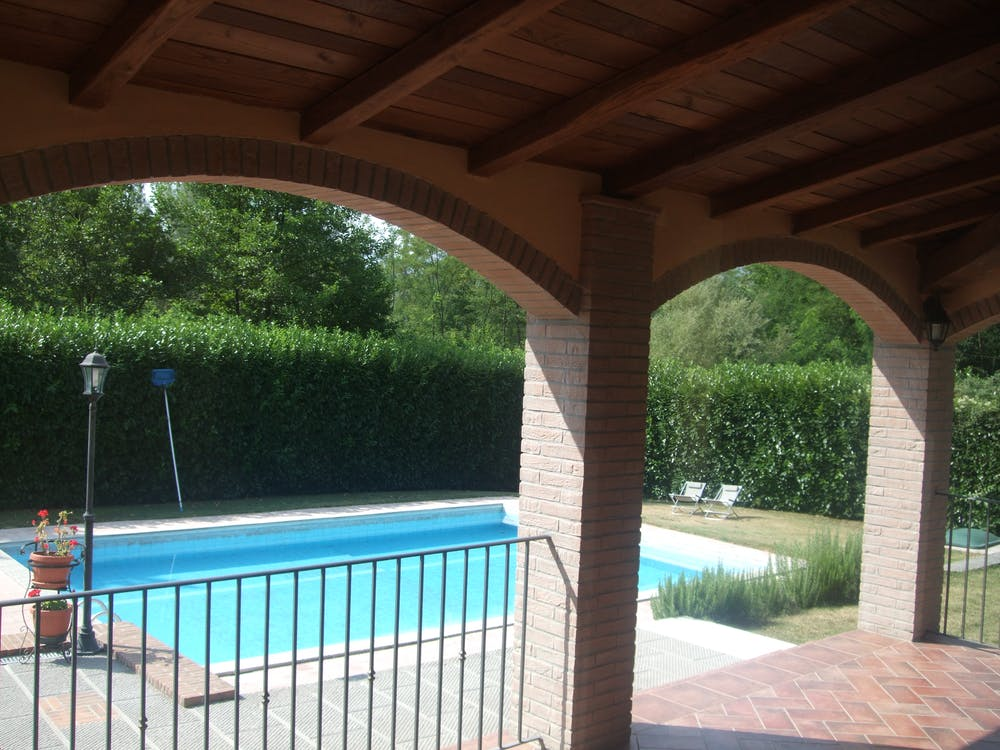 Free stock photo of arches, swimming pool
