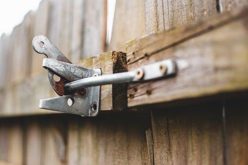 Free stock photo of backyard, latch