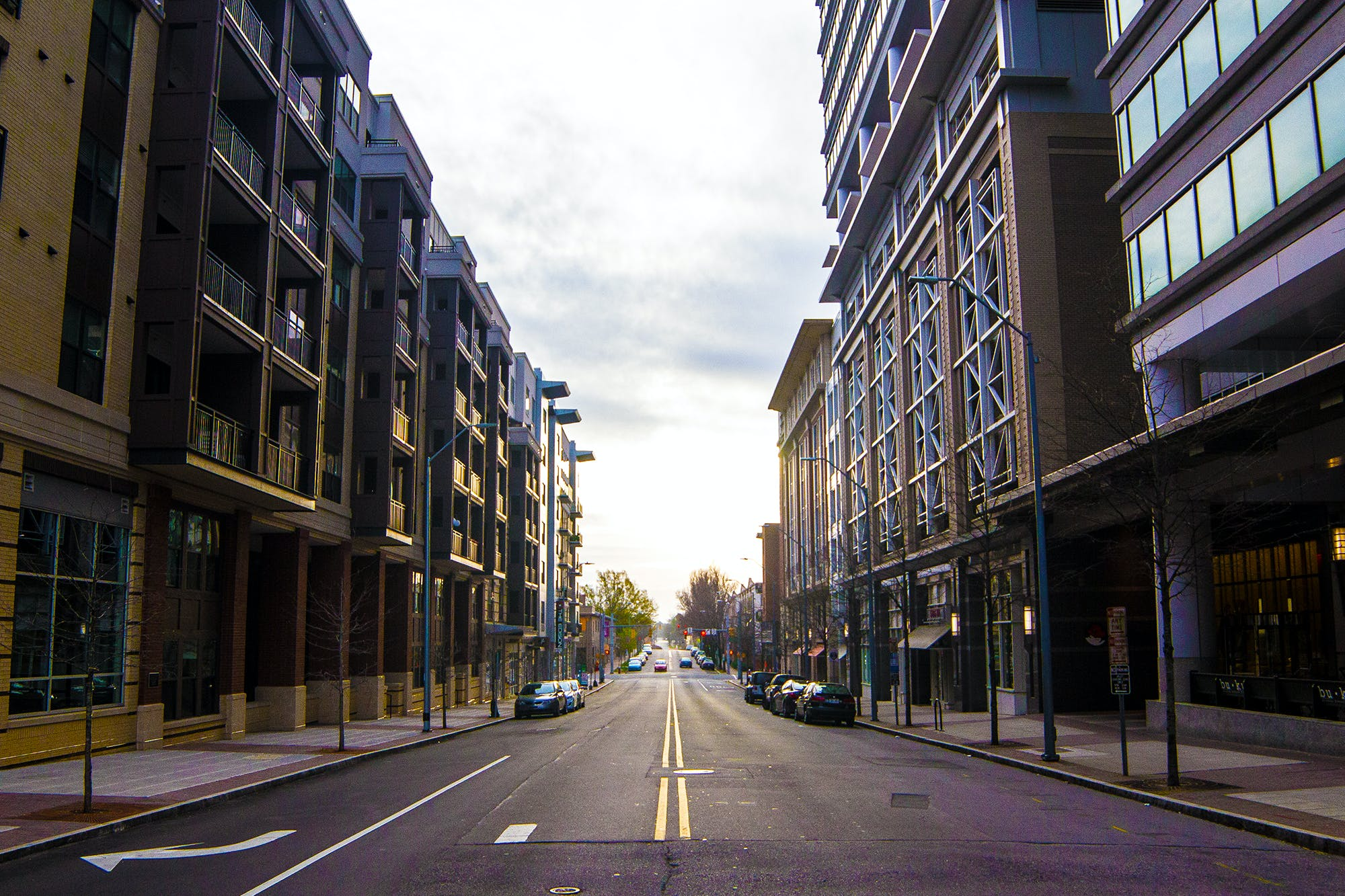 Free stock photo of city, downtown, Raleigh, street