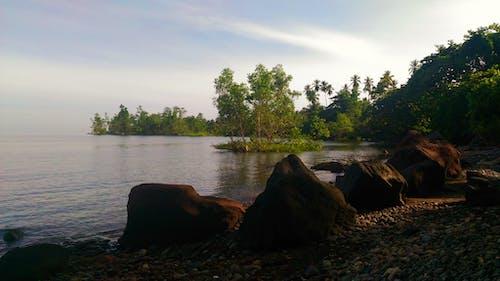 Foto profissional grátis de ilha da praia, Indonésia, indonésia maravilhosa, lindo pôr do sol