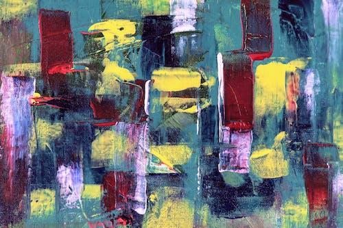 Foto d'estoc gratuïta de abstracte, acrílic, aquarel·la, art