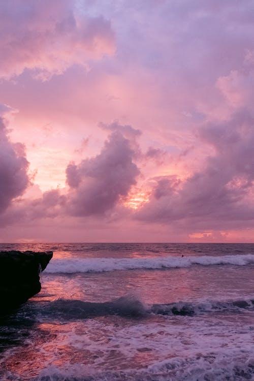Imagine de stoc gratuită din amurg, apus, Bali, cer