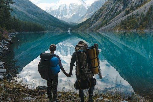 Immagine gratuita di altai, escursione, escursionisti, ghiacciaio