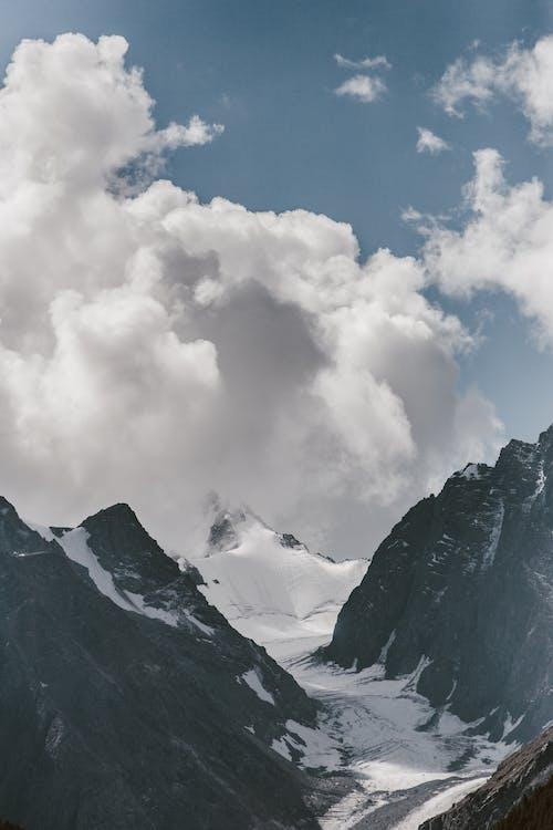 Immagine gratuita di altai, cielo, cloud, ghiacciaio