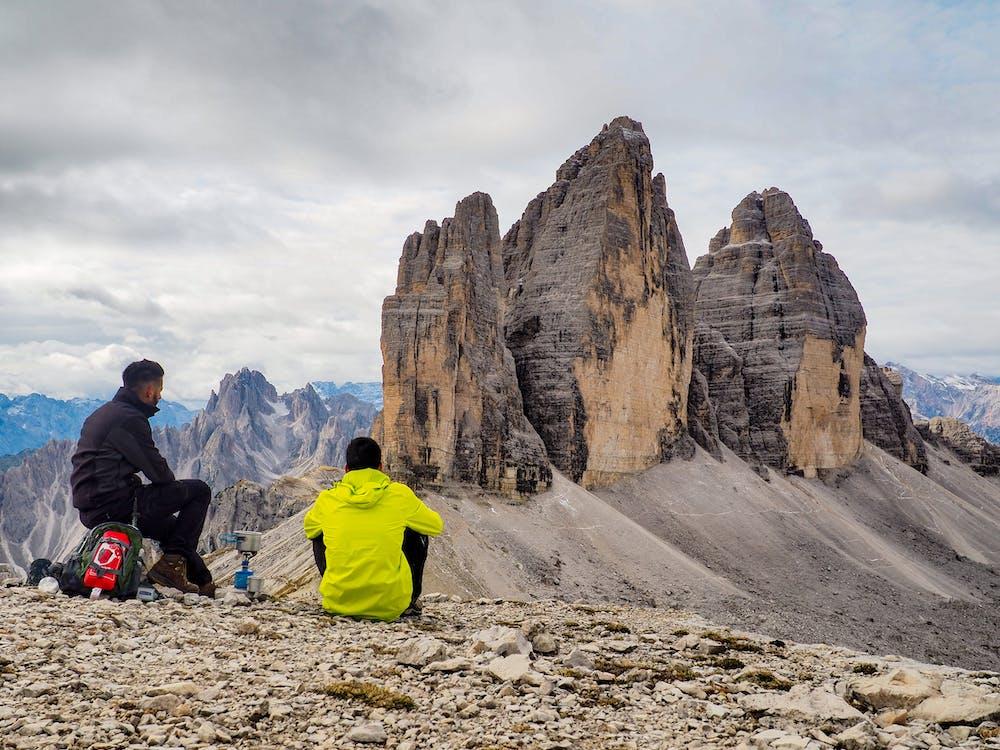 Men in Rocky Mountain