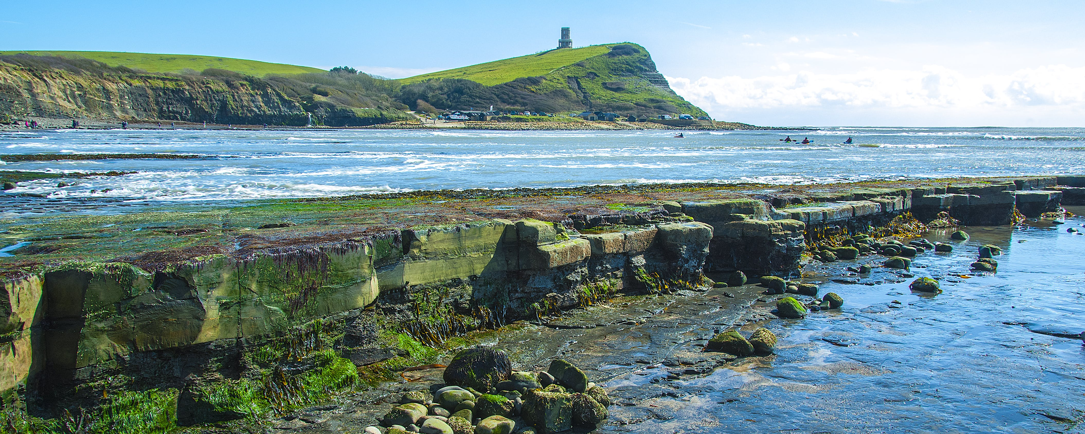Free stock photo of kimmeridge bay