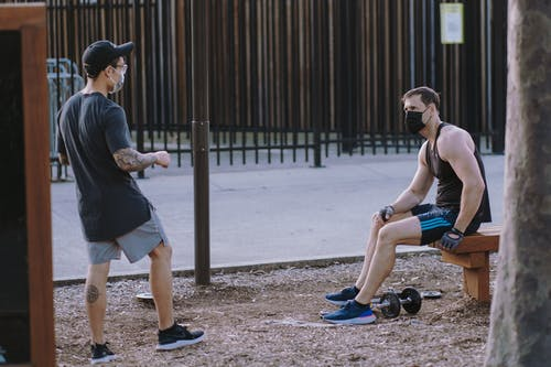 Men Doing Outdoor Workouts