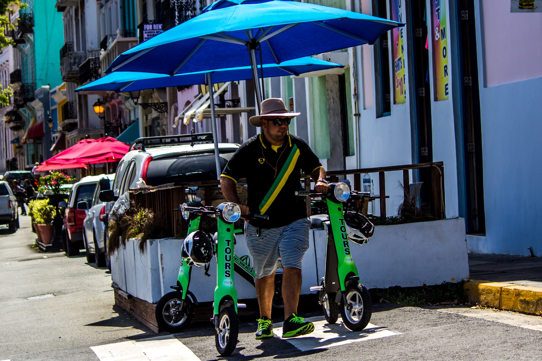 Free stock photo of bike, San Juan Puerto Rico, vendor