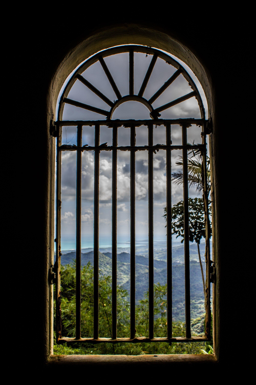 アーチ型の窓, サンファンプエルトリコ, 雨林の無料の写真素材