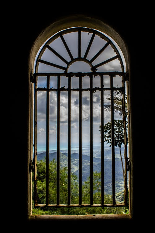 Free stock photo of arched window, rain forest, San Juan Puerto Rico