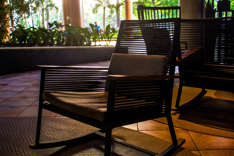 Kostenloses Stock Foto zu hotellobby, san juan puerto rico, schaukelstuhl