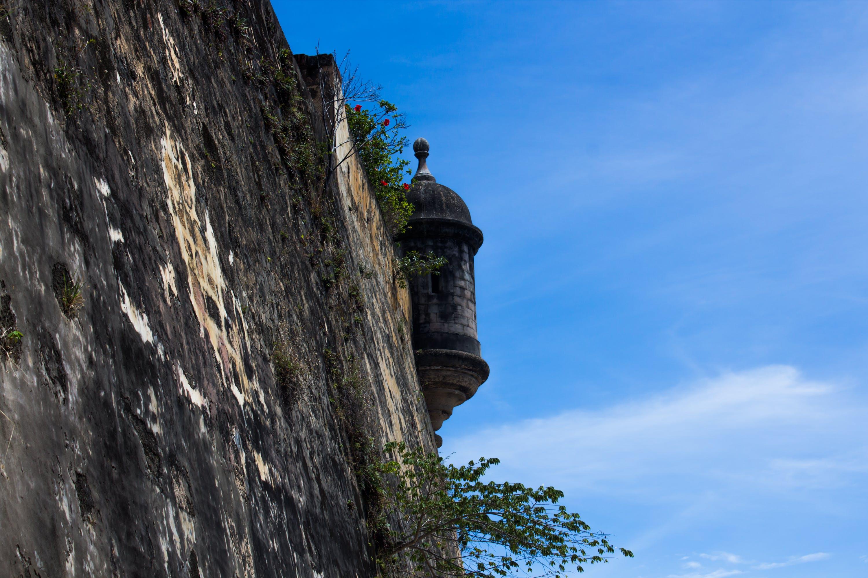 サンファンプエルトリコ, 城壁の無料の写真素材