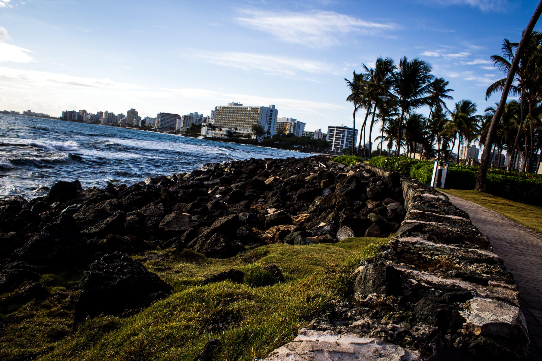 Free stock photo of break water, ocean, San Juan Puerto Rico