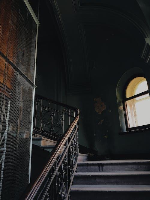 Railings On Staircase