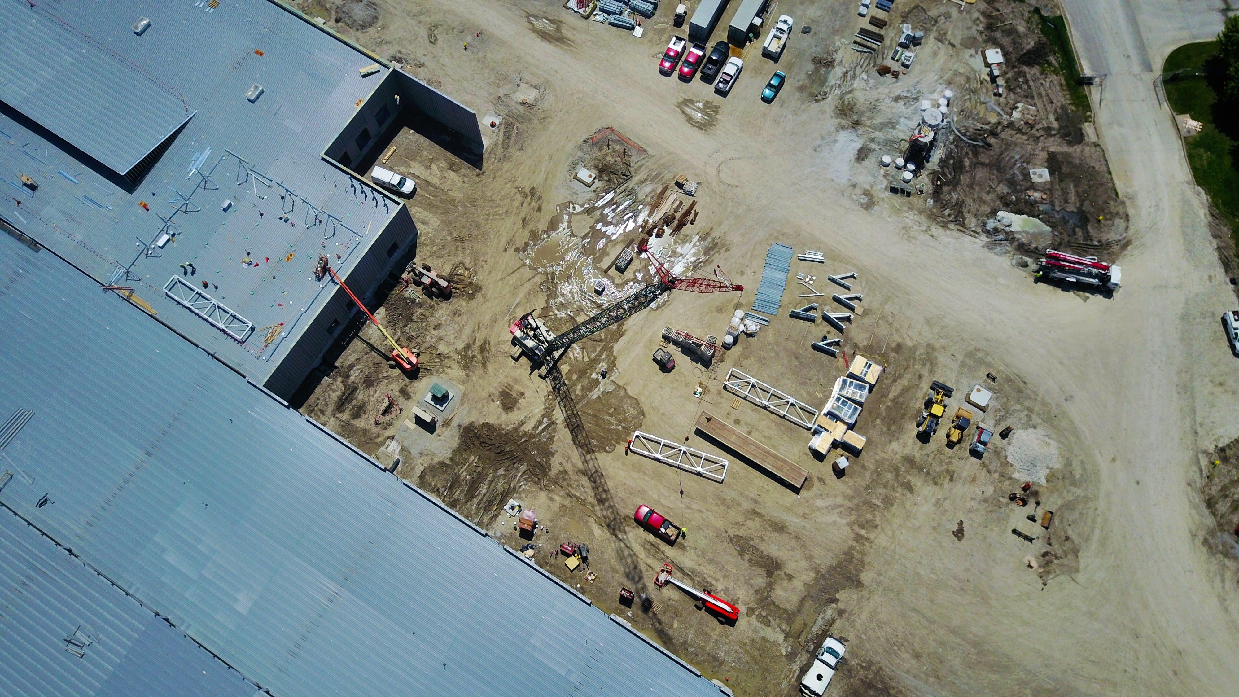 Free stock photo of construction machinery