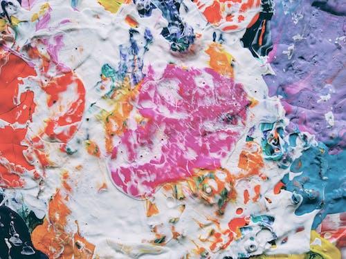 Gratis lagerfoto af abstrakt, abstrakt maleri, akryl, akrylmaling