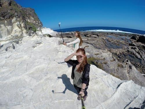 Free stock photo of adventure, beach, camera