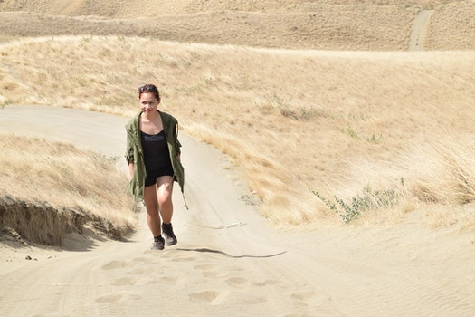 Free stock photo of nature, love, sand, desert