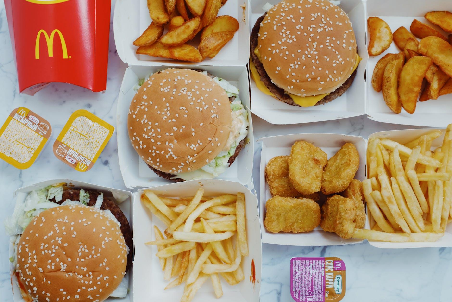 McDonald's Lunch Menu