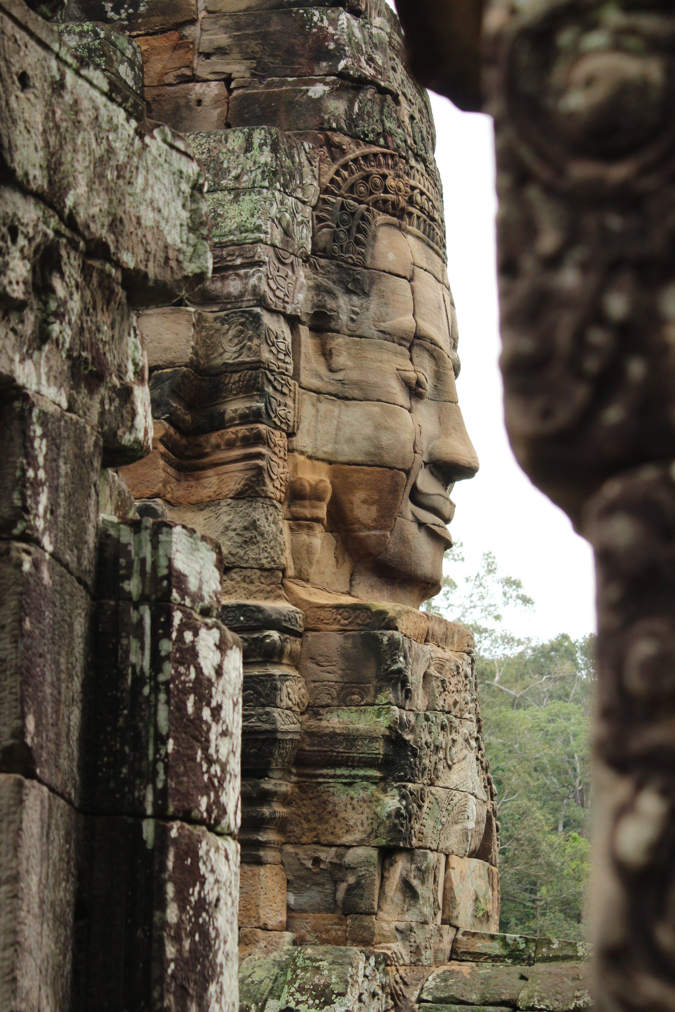 Free stock photo of ancient, angor thom, Buddhism, buddhist