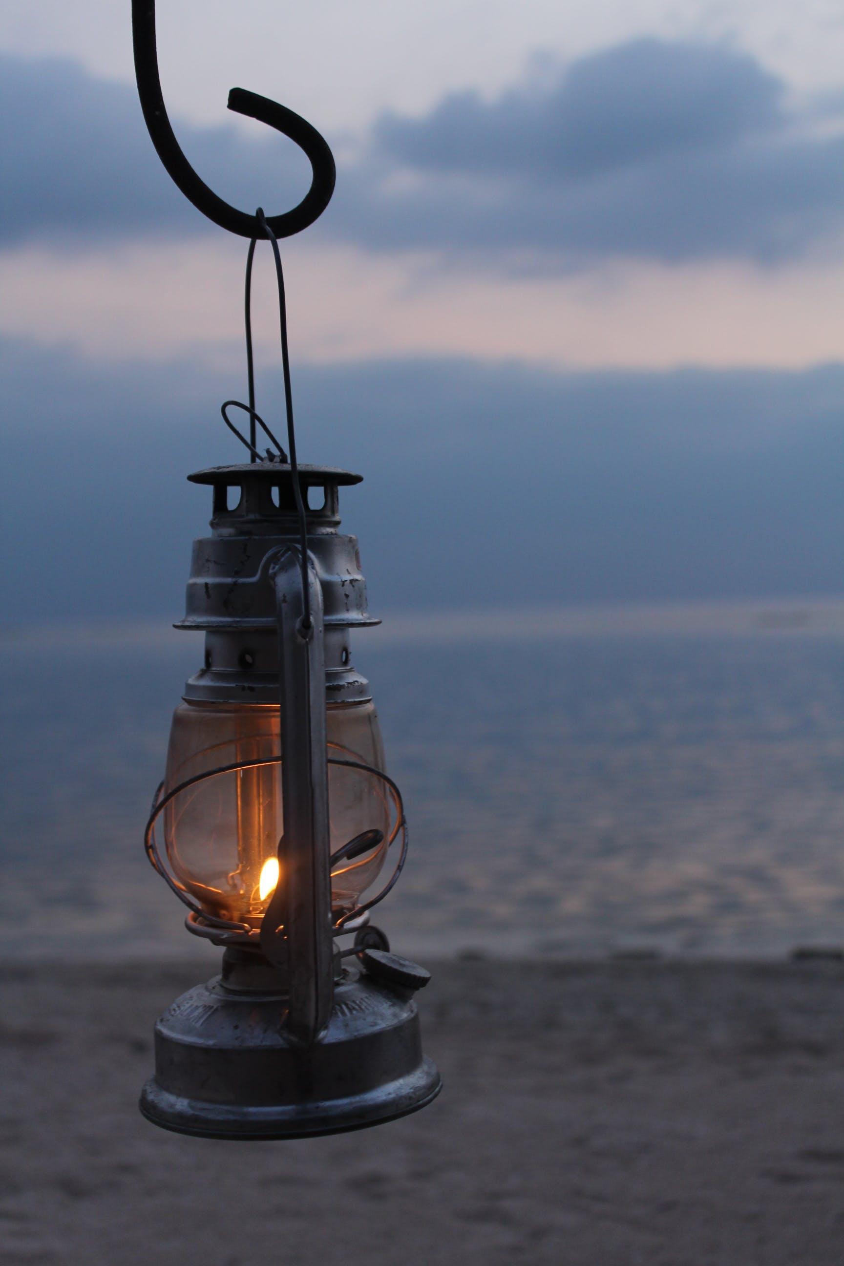 Free stock photo of beach, candle, coast, dusk